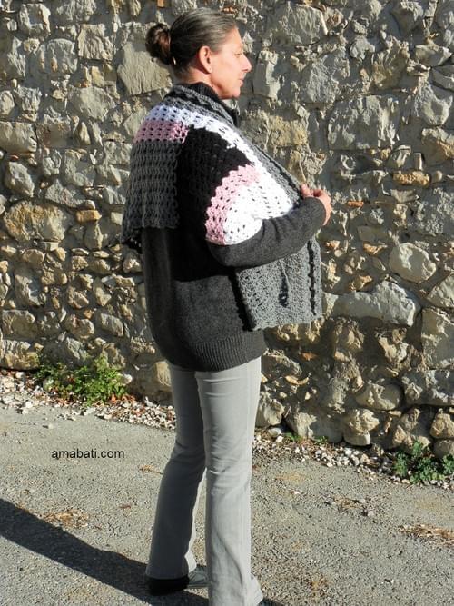 Etole en laine - 170cm