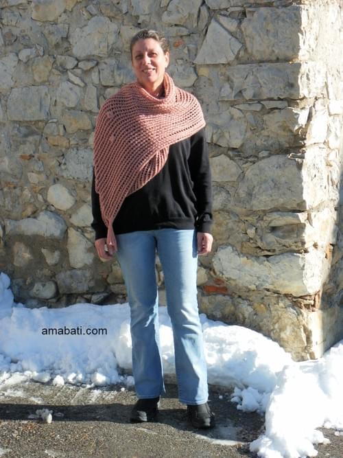 Longue étole en laine - 170cm