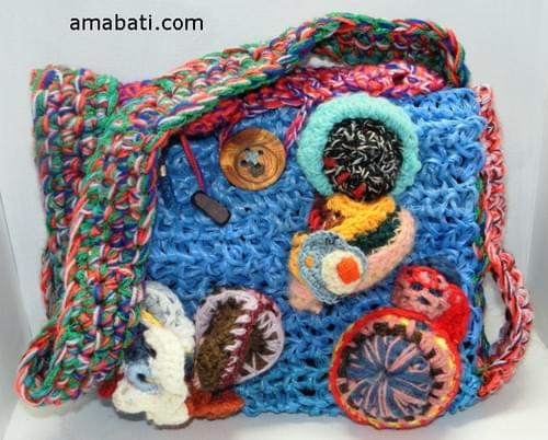 Mexico - sac bandoulière en ficelle agricole