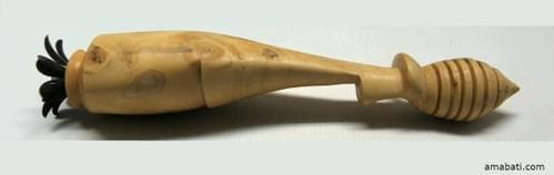 Grande cuillère à miel en buis