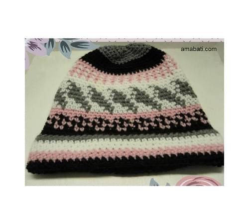 Bonnet multicolore - L
