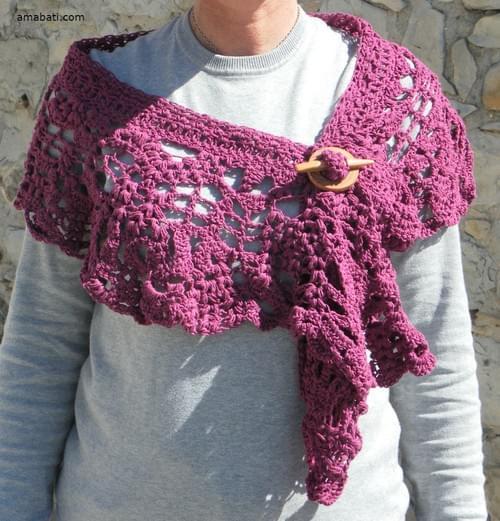 Etole (145cm) avec fibule
