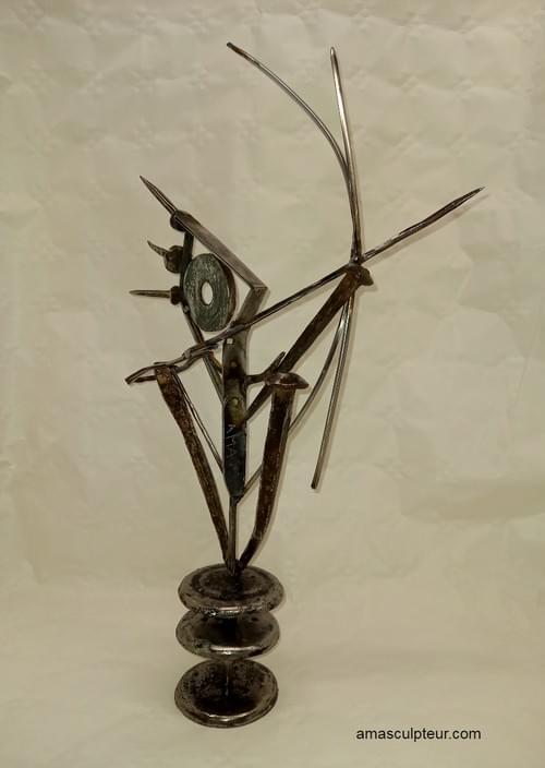 INOUZONPAHU sculpture métal