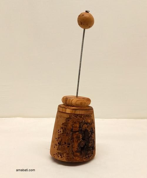 Diffuseur en bois d'olivier, pour huiles essentielles - n°1