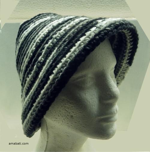 Bonnet réversible - M