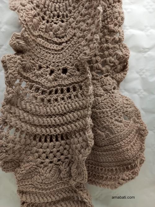 Echarpe free form (150cm)