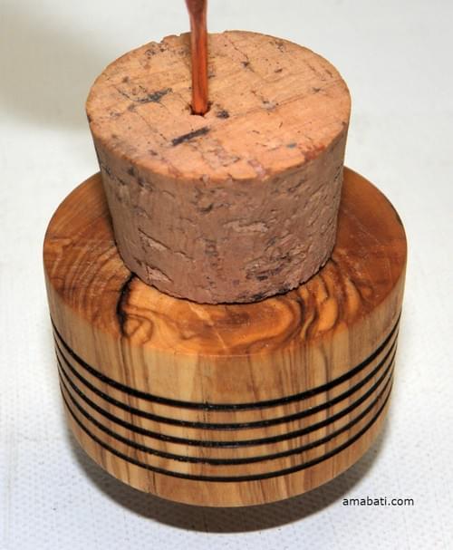 Diffuseur en bois d'olivier, pour huiles essentielles