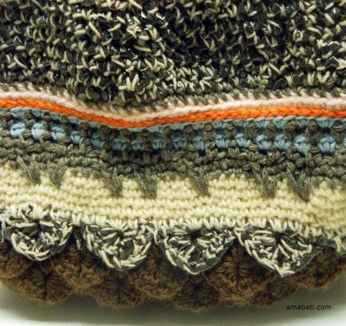 Sac en laine et bandes magnétiques