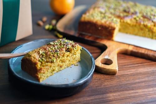 Orange, Almond and Pistachio Cake