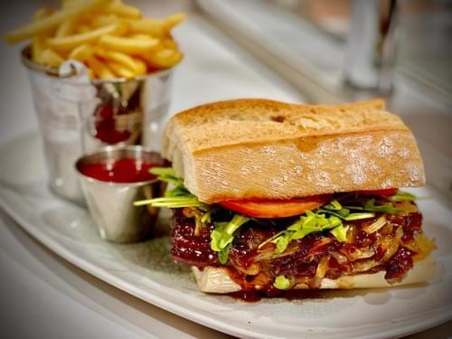 Murphy`s Irish Stout Braised Steak Sandwich