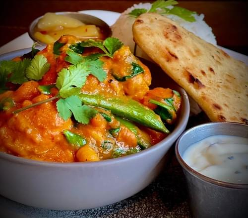Indian Madras Chicken Curry
