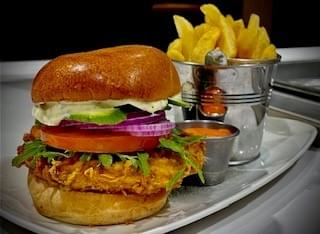 Buttermilk Chicken Fillet Burger @ The Elm