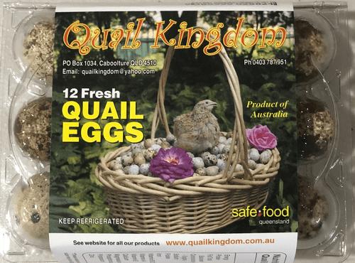 Fresh Quail Eggs - 16 Dozens
