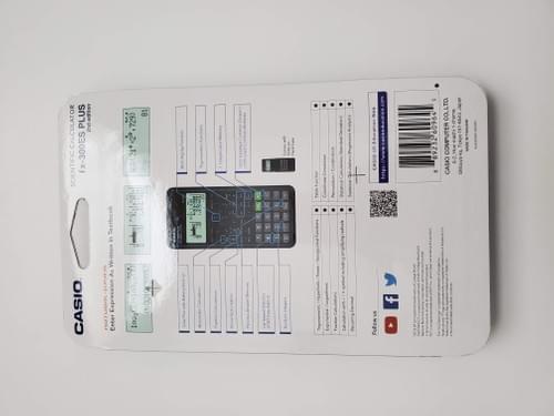 Calculadora Casio fx-300 ES PLus