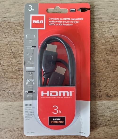 Cable HDMI RCA