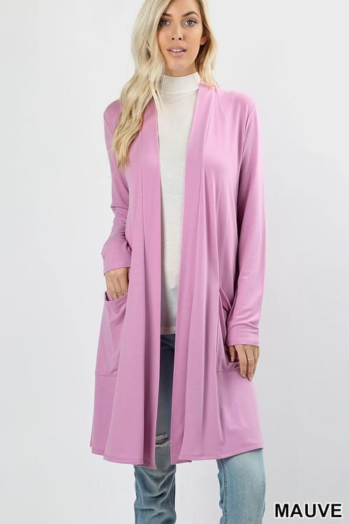 Long sleeve Cardigan Sweater Jacket