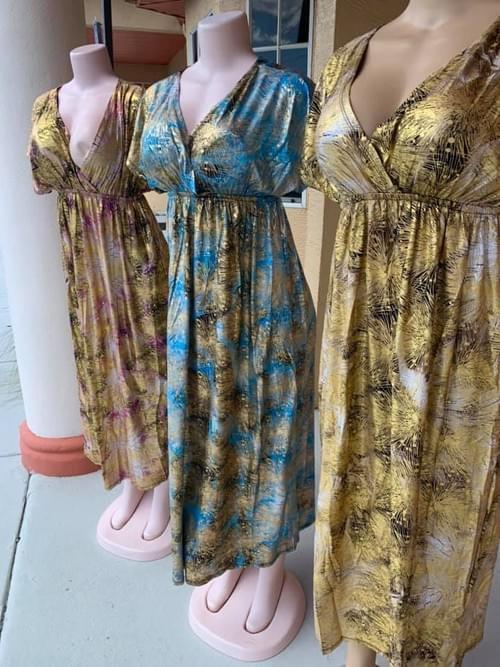 SHIMMER SUMMER MAXI DRESS