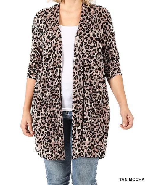 Leopard Cardnigan