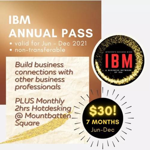 IBM Annual Pass 2021