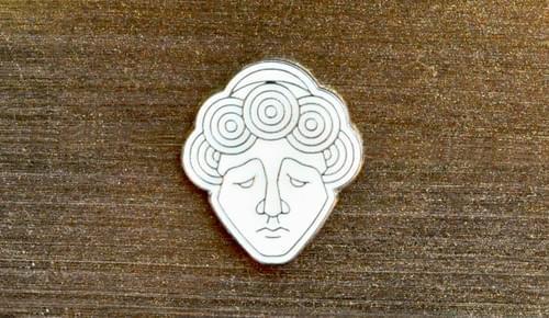 Angel Enamel Pin