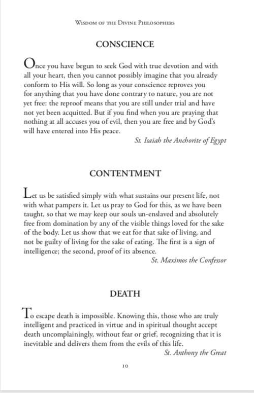 Wisdom of the Divine Philosophers-Volume One