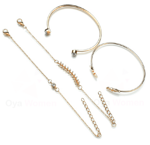 Layer minimalist bracelets