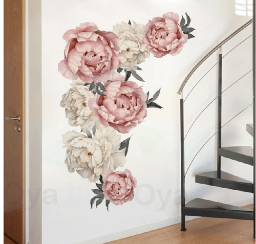 Gorgeous pink flowers Wall paper