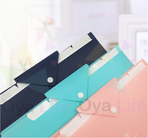 6 flaps folder