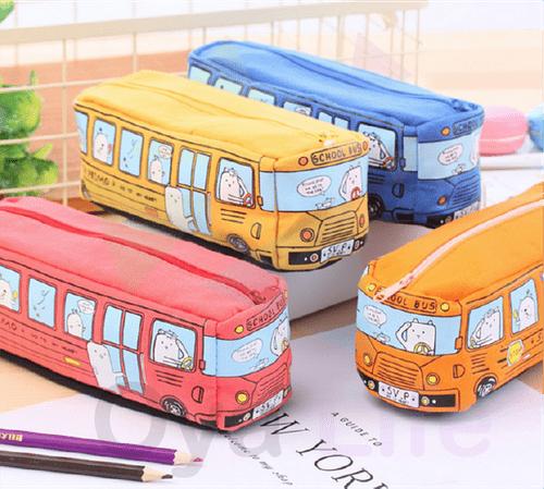 School bus pen pouch(Large)