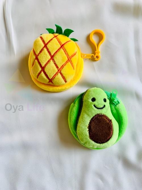 Fruit coin pouch