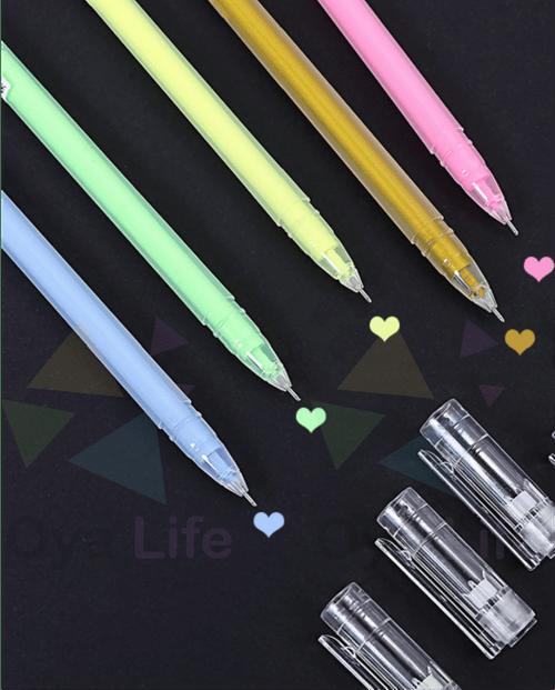Pastel color pen set 12 colors