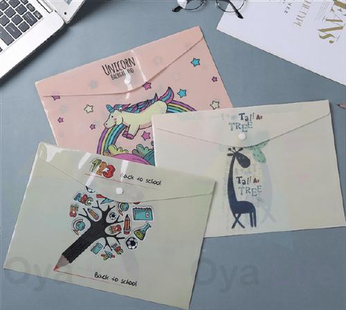 A4 cutie pattern folder