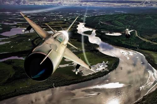 0178 MiG 21 Fishbeds over Vietnam