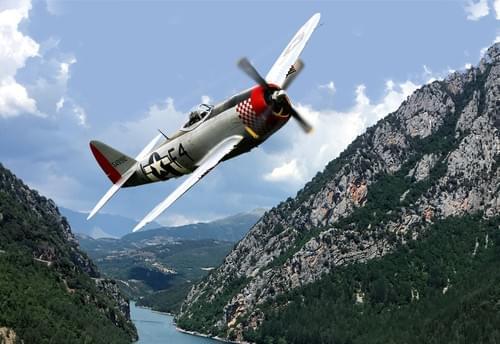 0074 P47D Thunderbolt in France
