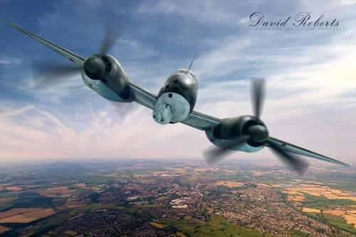 0091 Junkers 88 over England