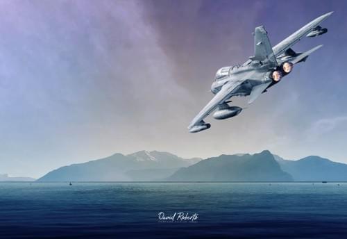 0356 Tornado over lake