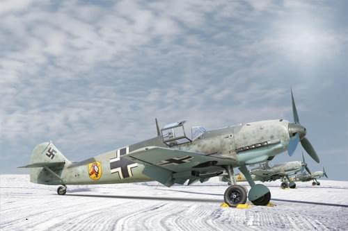 0025 ME109s in the snow