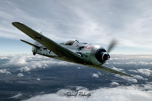 0376 Focke Wulf 190 solo