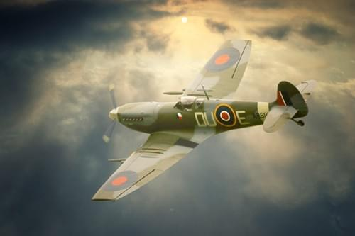 0097 Spitfire clipped wings