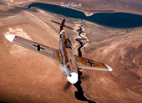 0258 Desert ME109