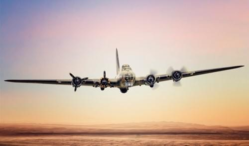 0009 B17 Flying Fortress