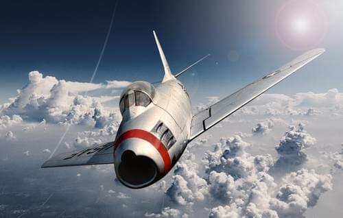 0186 F86 Sabre Jet