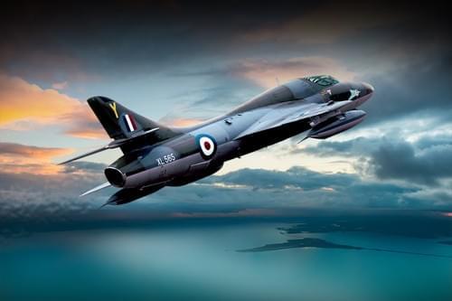 0176 Hawker Hunter T7