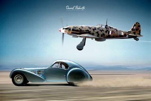 0310 Macchi 205 and Bugatti SC57