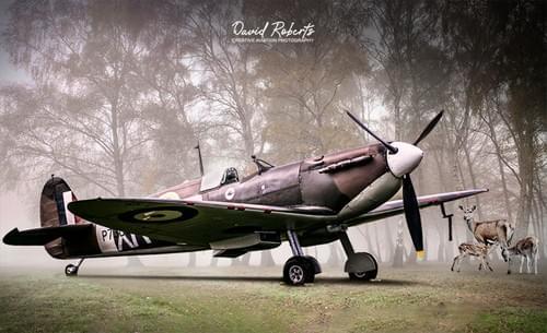 0398 Spitfire at dispersal