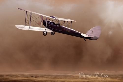 0243 British biplane over Somaliland