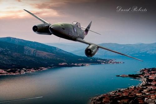 0208 ME262 over river