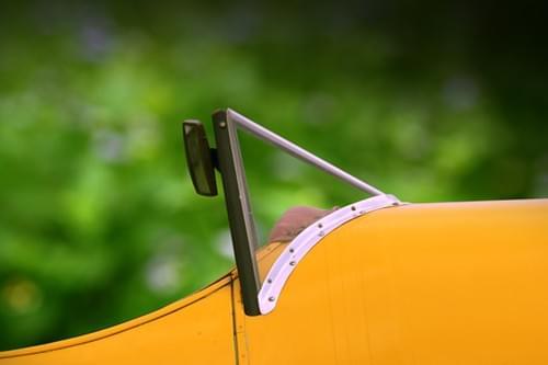 0130 De Havilland Tiger Moth cockpit