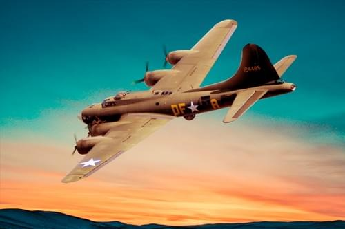 0164 B17 Flying Fortress
