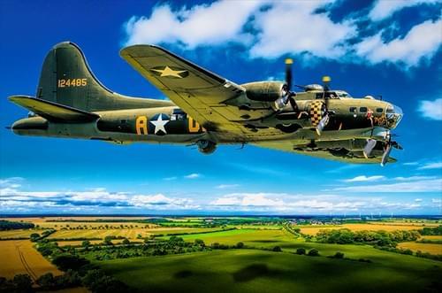 0206 B17 Flying Fortress Sally B